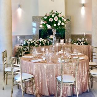 Chiavari stolička zlatá