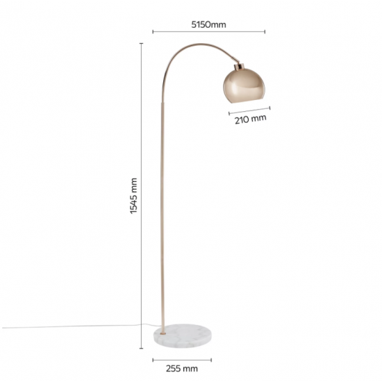 Lampa medená